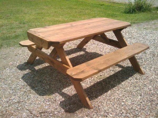 pro line rustic wood picnic tables rentals more event rentals