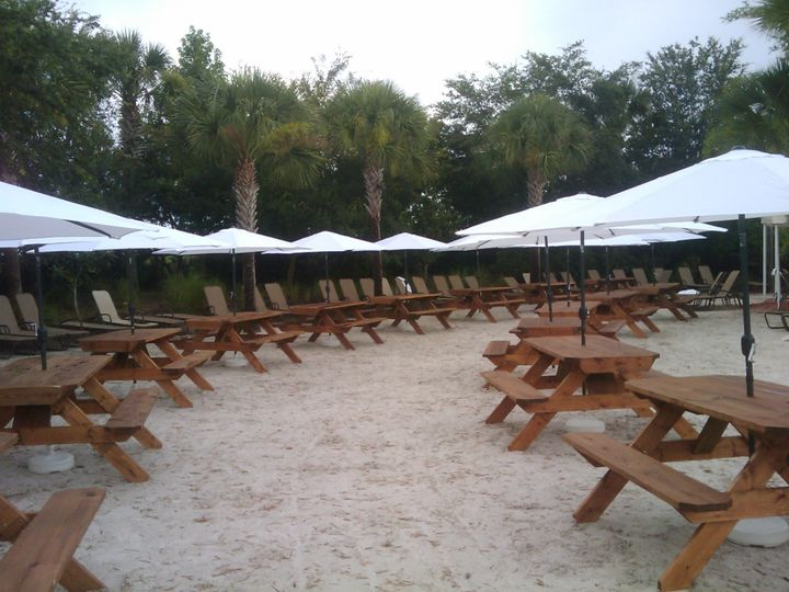 PROLINE RUSTIC WOOD PICNIC TABLES RENTALS MORE Event Rentals - Picnic table atlanta