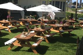 PRO-LINE RUSTIC WOOD PICNIC TABLES RENTALS& MORE