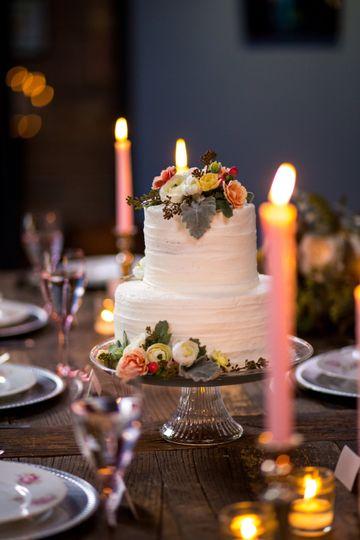 Wedding Cake, Herb's Bakery