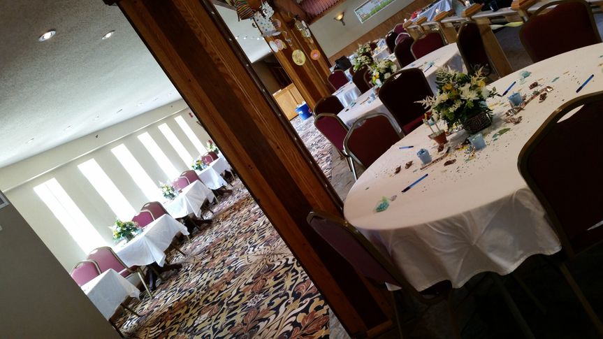 Baby Shower for a boy at Prominance Banquet Center