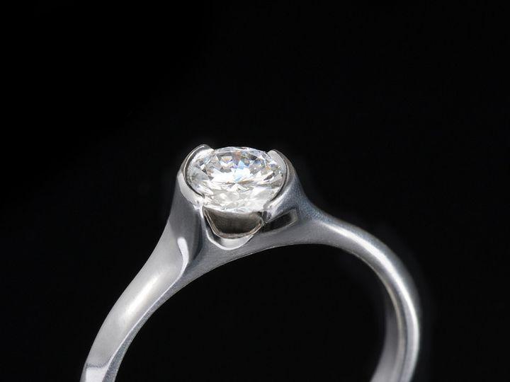 Tmx 1393350619084 Diamondringsol80a 8x1 Saratoga Springs wedding jewelry
