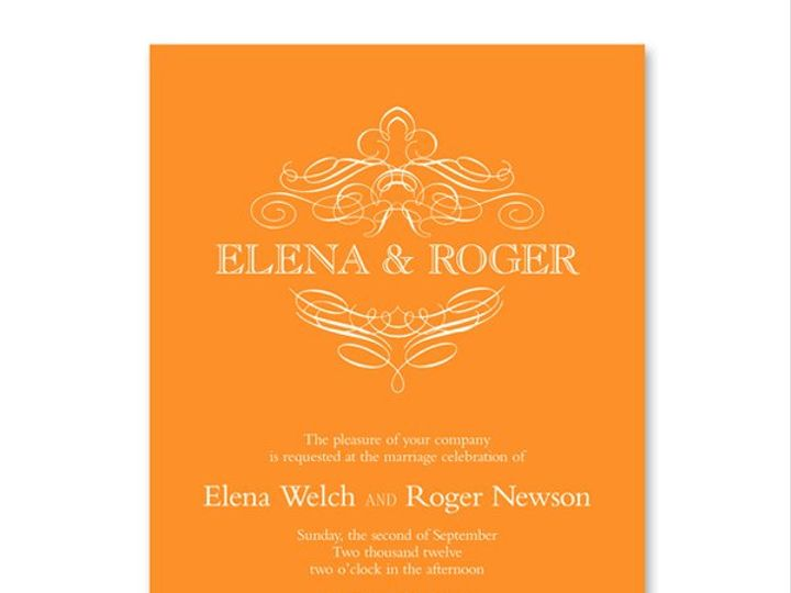 Tmx 1326568012646 VeraWangEngravedCalligraphicCrestMandarinWeddingInvitations7979556 West Kennebunk wedding invitation
