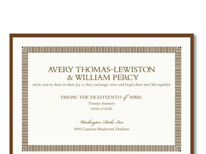 Tmx 1327966408882 P398585954 West Kennebunk wedding invitation