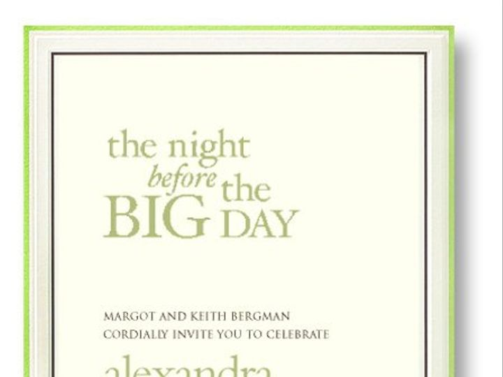 Tmx 1332178050703 7779521 West Kennebunk wedding invitation