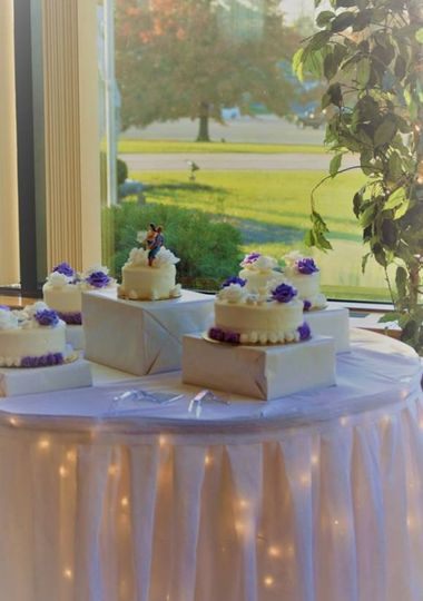 Wedding cake area