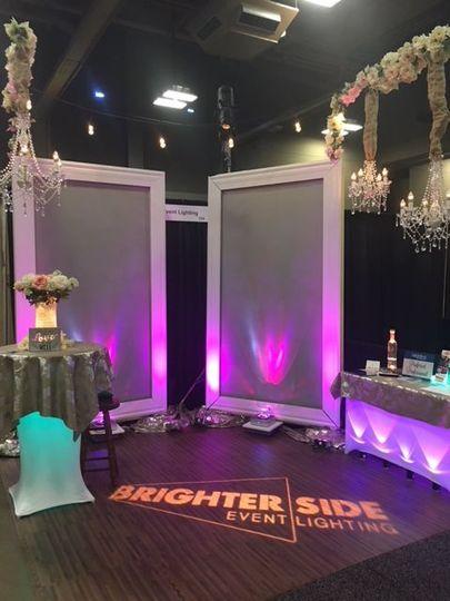 Bridal extravaganza booth jan. 2018