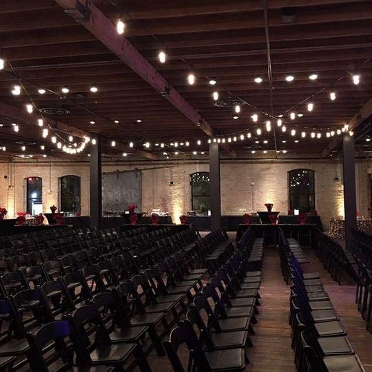 Romantic ceremony lights