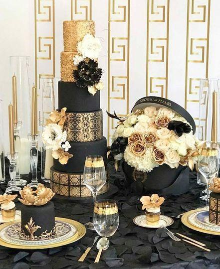 Thw wedding cake
