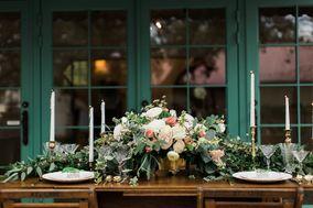Vintage Bouquet Bar