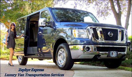 Zephyr Express Luxury Van Transportation