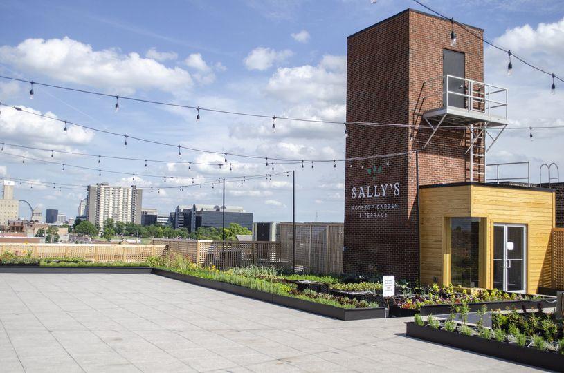Sally's Rooftop Garden
