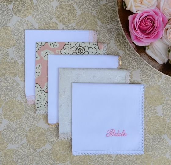 800x800 1427749929855 wedding handkerchiefs for the bride   gold white c