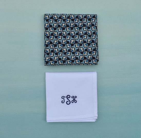 800x800 1427759834397 blue mens handkerchief  monogramed white handkerch