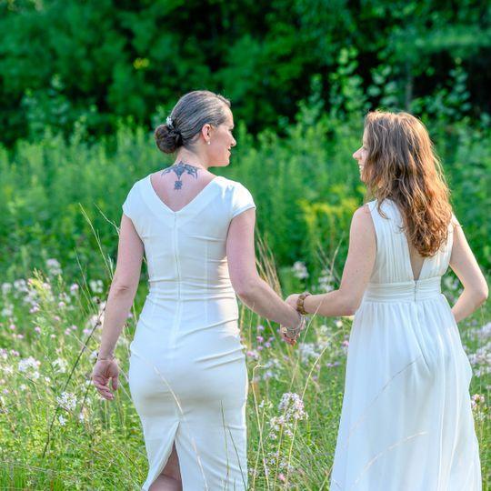 Amanda and Nicole