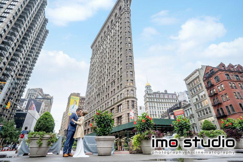 Flatiron Building, New York Ci