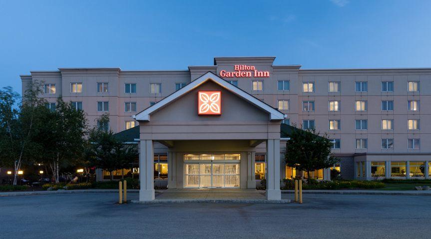 Hilton Garden Inn Rockaway Wedding Ceremony Reception