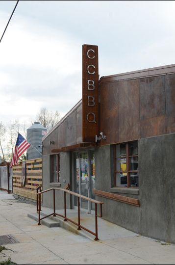 Exterior view of Central City BBQ