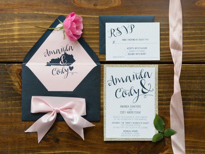 Tmx 1496870646883 Simplydone 0001 Lexington, KY wedding invitation