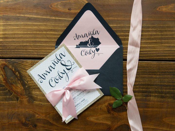 Tmx 1496870647208 Simplydone 0002 Lexington, KY wedding invitation