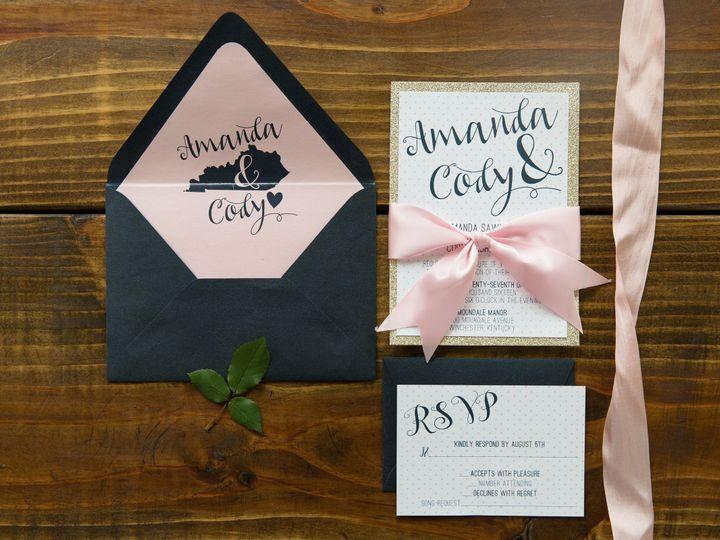 Tmx 1496870690563 Simplydone 0004 Lexington, KY wedding invitation
