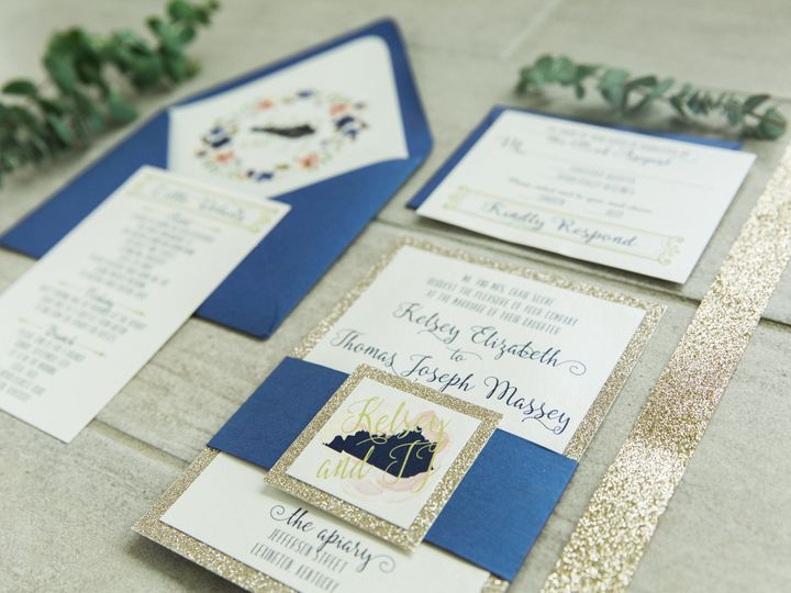 Tmx 1496870768616 Simplydone 0008 Lexington, KY wedding invitation