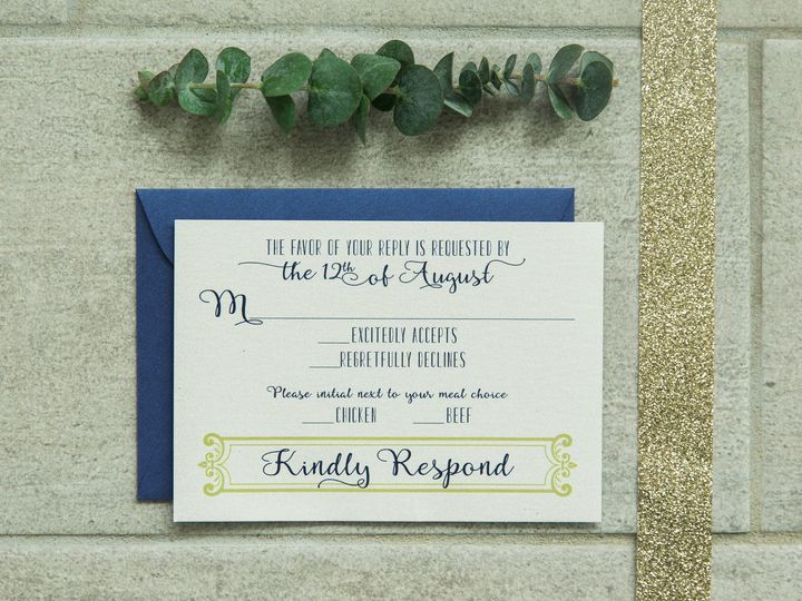 Tmx 1496870785305 Simplydone 0009 Lexington, KY wedding invitation