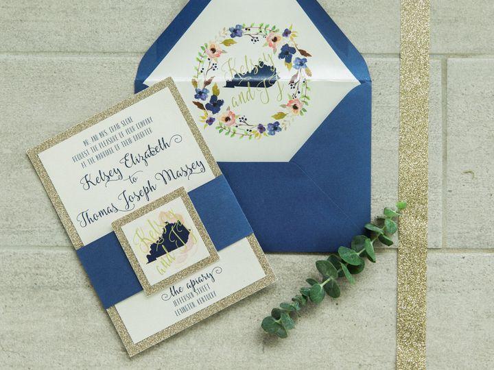 Tmx 1496870803075 Simplydone 0010 Lexington, KY wedding invitation