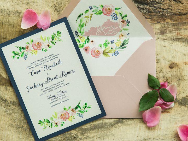 Tmx 1496870899495 Simplydone 0015 Lexington, KY wedding invitation