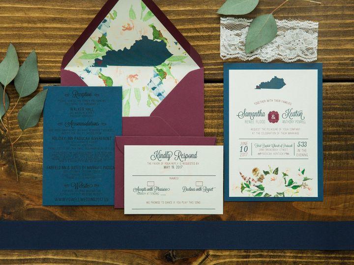 Tmx 1496871018070 Simplydone 0021 Lexington, KY wedding invitation