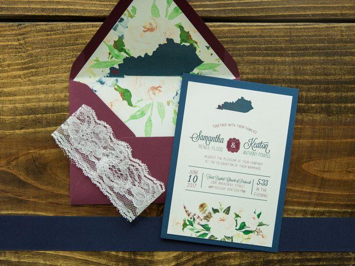 Tmx 1496871036100 Simplydone 0022 Lexington, KY wedding invitation