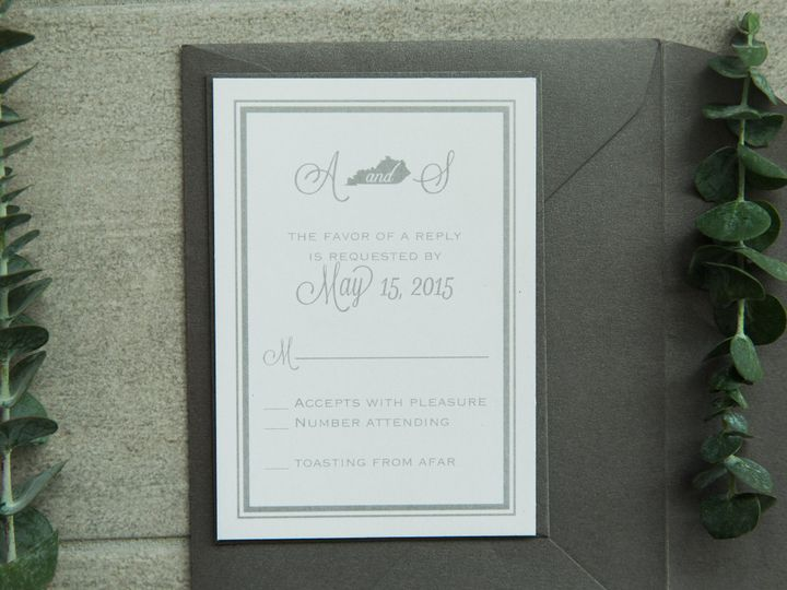 Tmx 1496871198376 Simplydone 0030 Lexington, KY wedding invitation