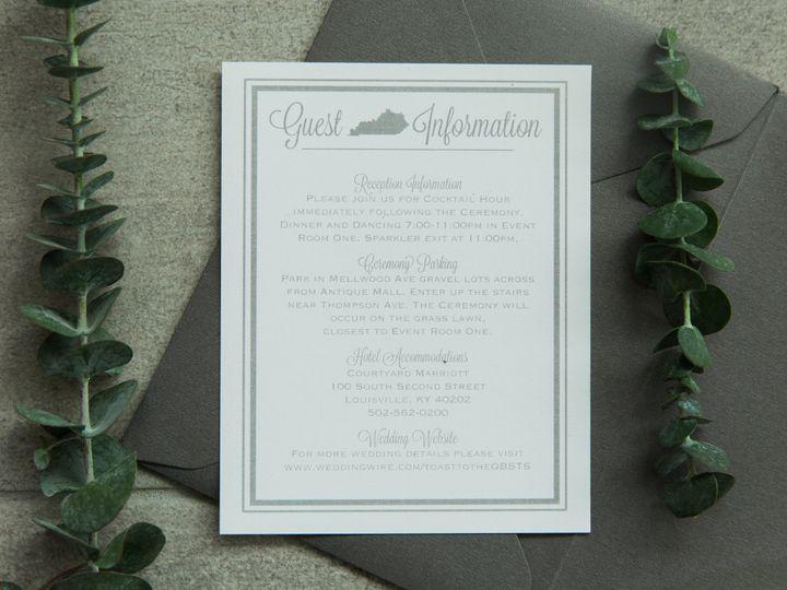 Tmx 1496871218976 Simplydone 0031 Lexington, KY wedding invitation