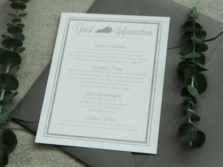 Tmx 1496871238305 Simplydone 0032 Lexington, KY wedding invitation