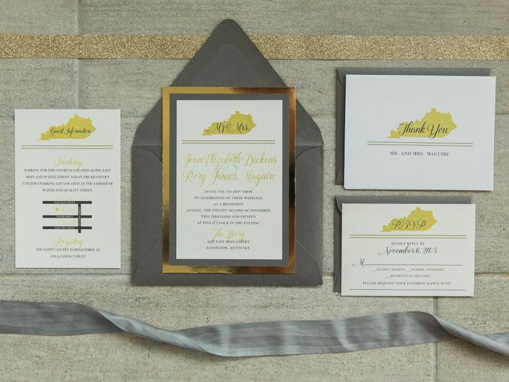 Tmx 1496871403242 Simplydone 0039 Lexington, KY wedding invitation