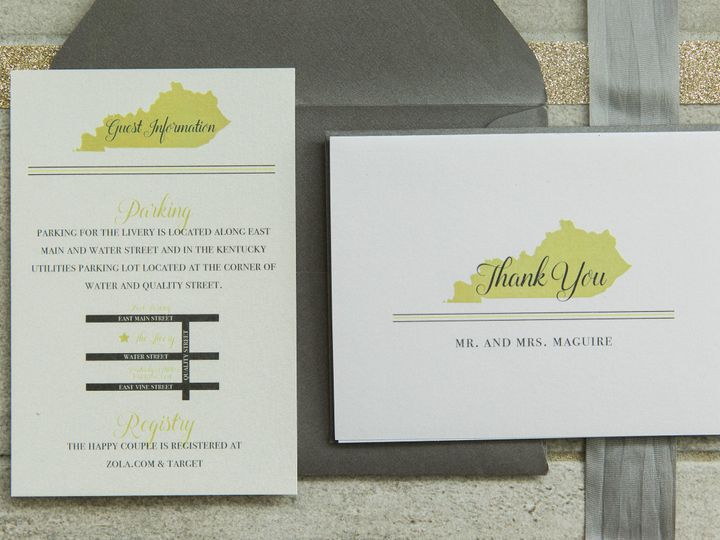 Tmx 1496871462320 Simplydone 0042 Lexington, KY wedding invitation