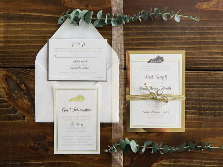 Tmx 1496871481699 Simplydone 0043 Lexington, KY wedding invitation