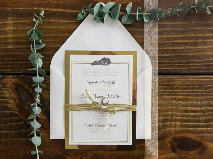 Tmx 1496871523801 Simplydone 0045 Lexington, KY wedding invitation