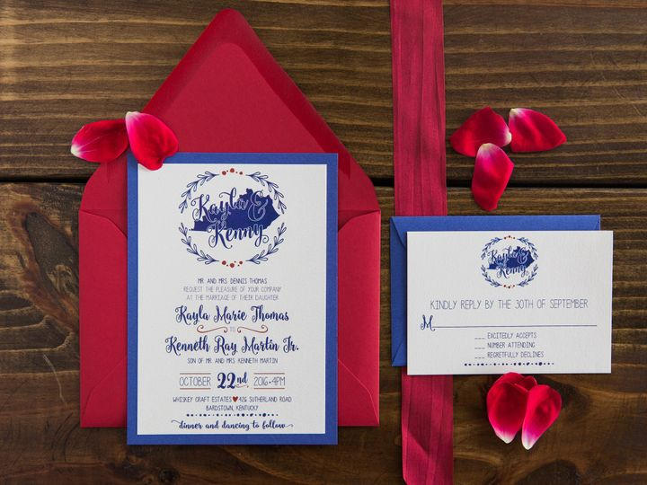 Tmx 1496871571043 Simplydone 0047 Lexington, KY wedding invitation