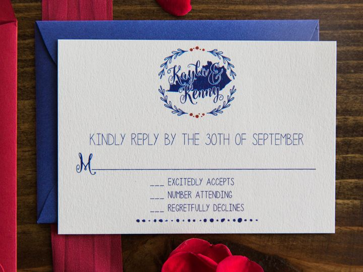 Tmx 1496871593071 Simplydone 0048 Lexington, KY wedding invitation