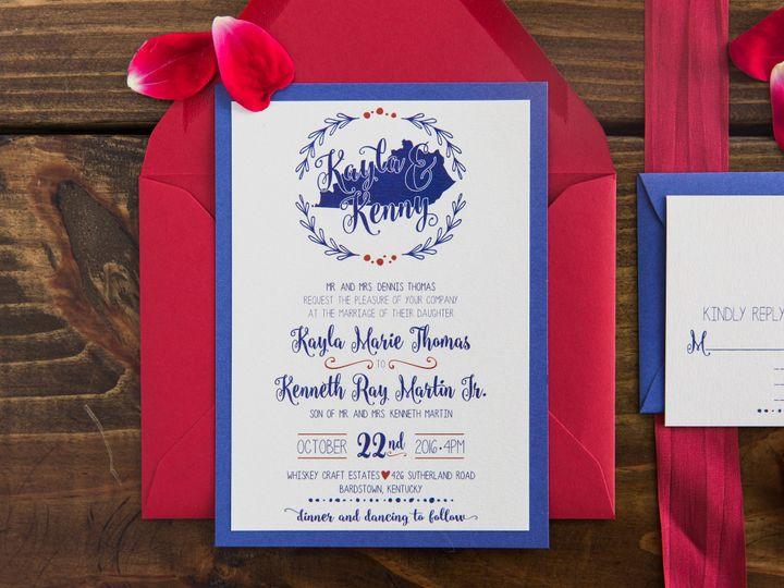 Tmx 1496871617516 Simplydone 0049 Lexington, KY wedding invitation
