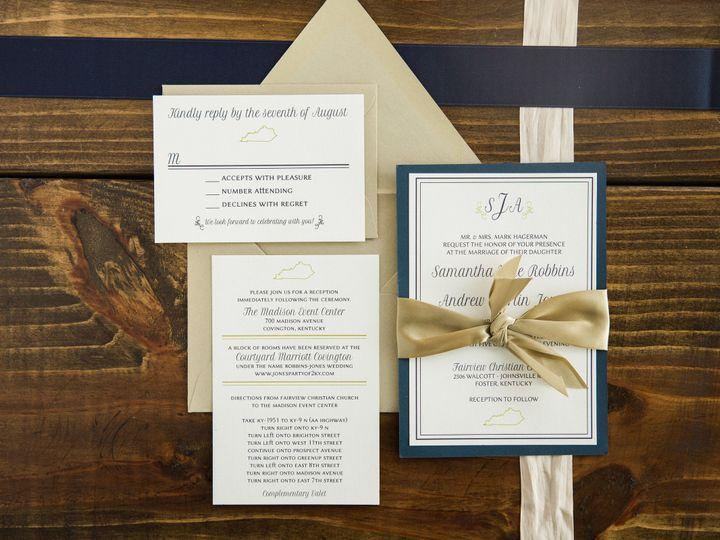 Tmx 1496871744115 Simplydone 0055 Lexington, KY wedding invitation