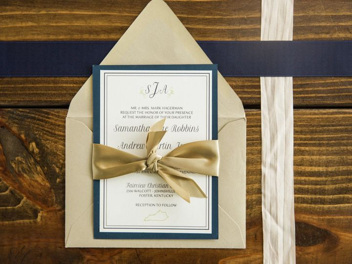 Tmx 1496871778188 Simplydone 0057 Lexington, KY wedding invitation