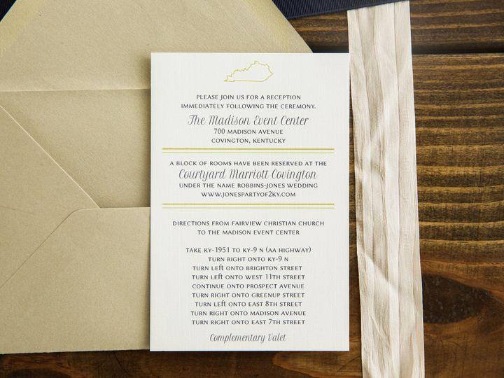 Tmx 1496871827065 Simplydone 0059 Lexington, KY wedding invitation