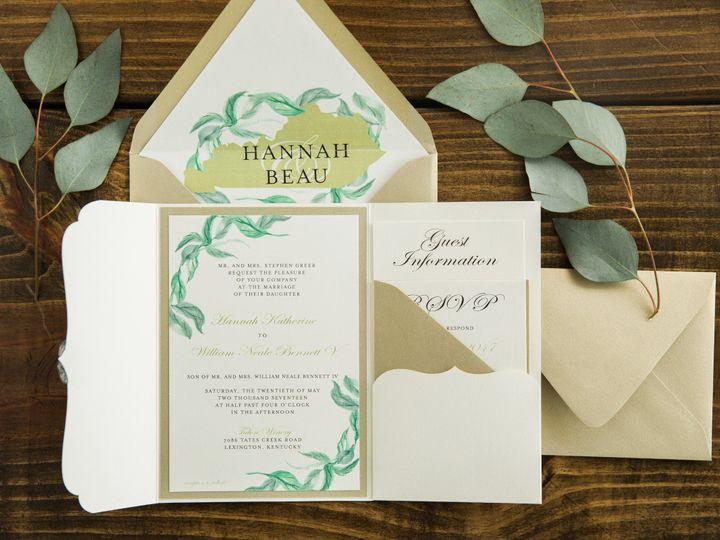 Tmx 1496871869773 Simplydone 0061 Lexington, KY wedding invitation