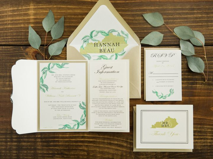 Tmx 1496871892948 Simplydone 0062 Lexington, KY wedding invitation