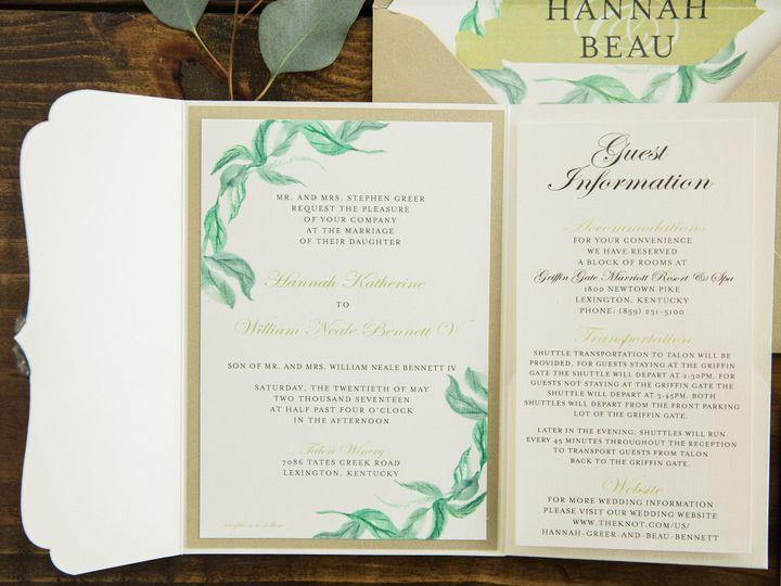 Tmx 1496871912334 Simplydone 0063 Lexington, KY wedding invitation
