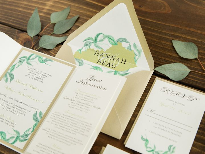 Tmx 1496871951342 Simplydone 0065 Lexington, KY wedding invitation