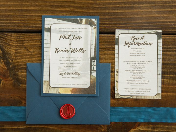 Tmx 1496871995585 Simplydone 0067 Lexington, KY wedding invitation