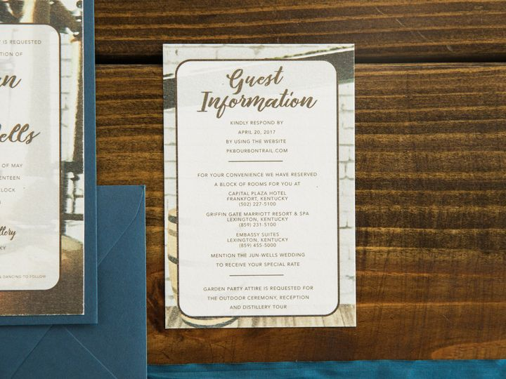 Tmx 1496872045830 Simplydone 0069 Lexington, KY wedding invitation